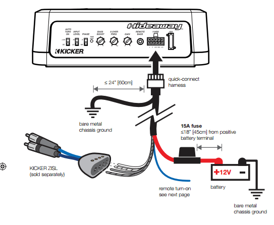 kicker kisl wiring diagram
