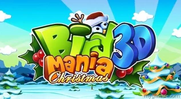 Bird Mania 3D Christmas Banner