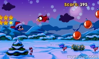 BirdManiaChristmas3D_Screen06 Bird Mania 3D Christmas 3DS eShop Review Bird Mania 3D Christmas 3DS eShop Review BirdManiaChristmas3D Screen06