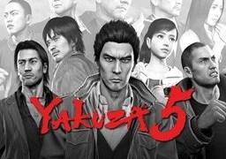 Yakuza 5 faces