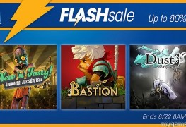 PSN Flash Sale 8-22-16