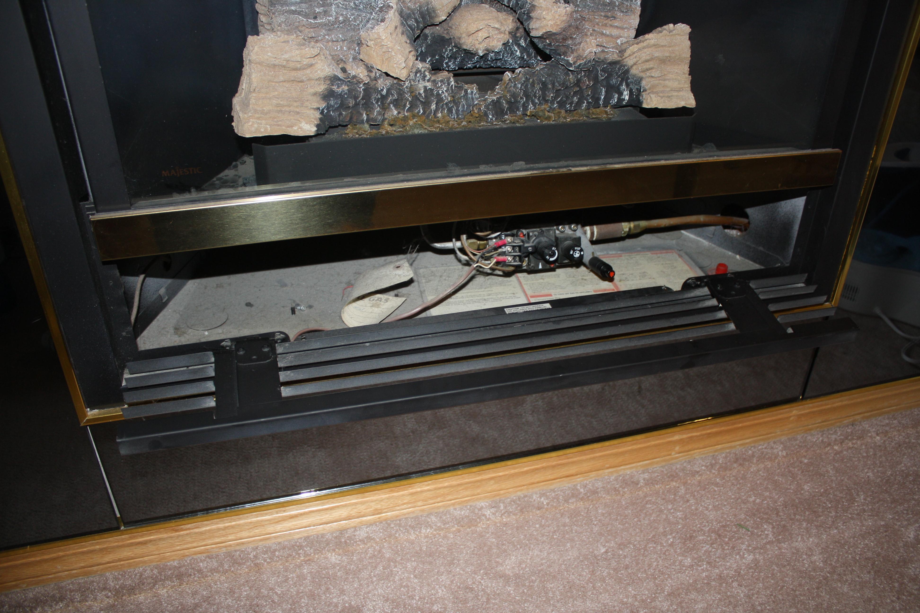 How To Light A Gas Fireplace Pilot Part - 32: Lighting Pilot Light Gas Fireplace Heat N Glo