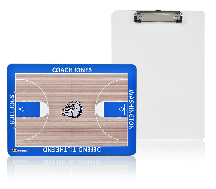 Dry Erase Clipboard- Basketball 9x125 inches G-board