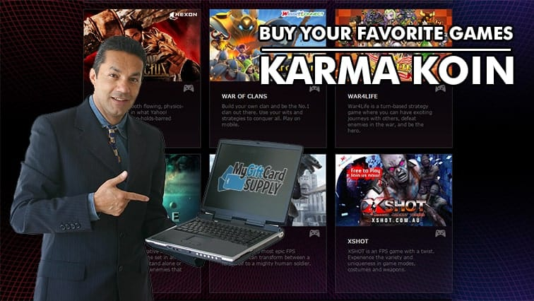 Convert Your Money to Karma Koin, Purchase Games Securely