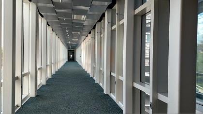 inside walkway