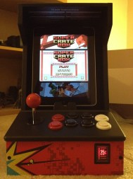 Super Crate Box on the iCade