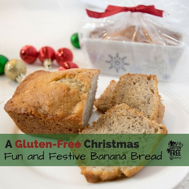 Fun and Festive Gluten-Free Banana Bread