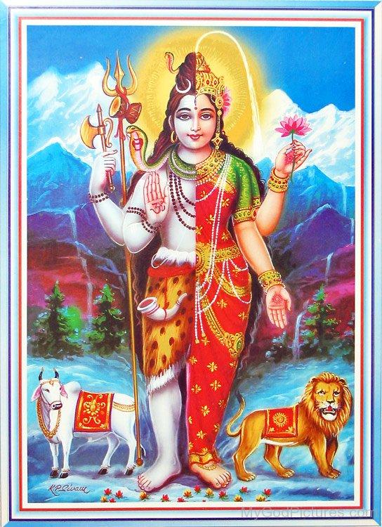 Shiv Shankar Hd Wallpaper Lord Ardhanarishvara Ji God Pictures