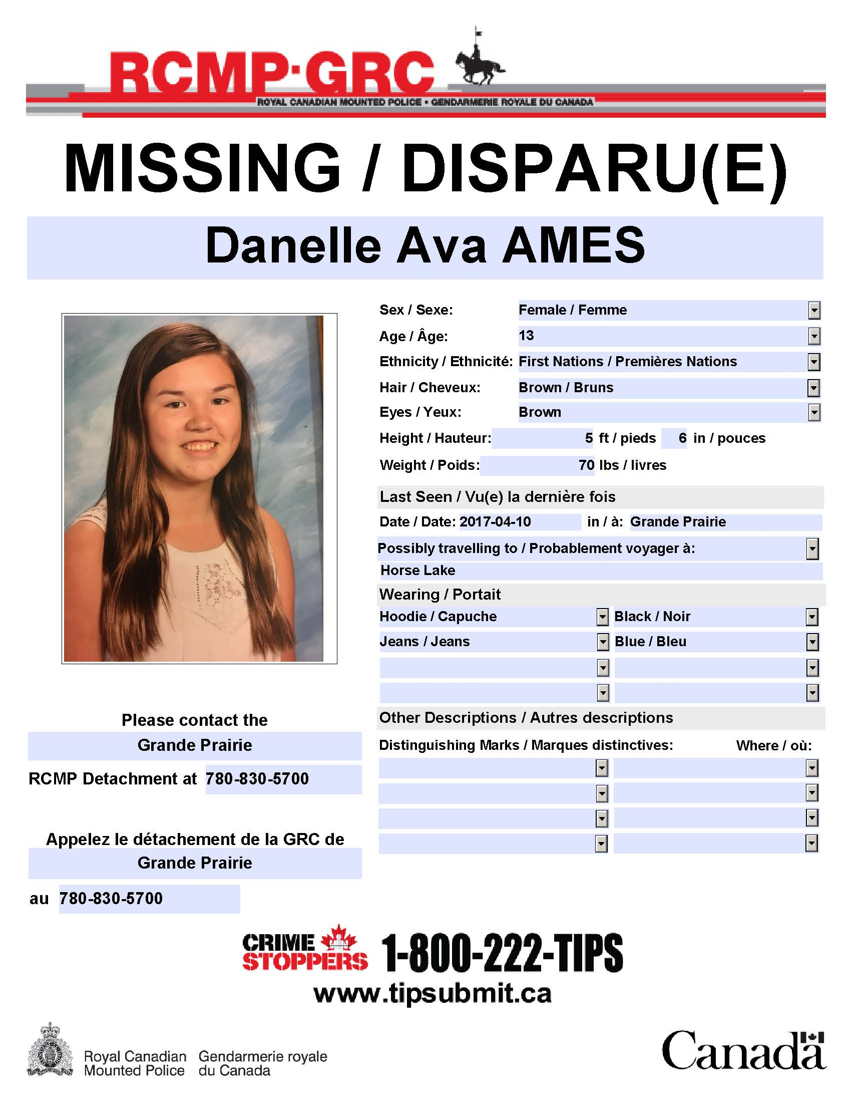 1st Year Calendar Of Events Events Calendar Update Missing Girl Found Safe My Grande Prairie Now