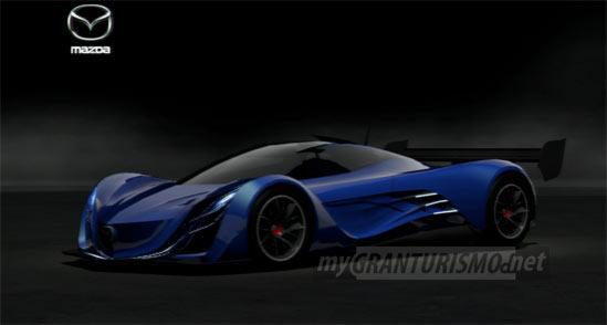 Gta Car Wallpaper Mazda Furai Concept 08 Gran Turismo 5 Mygranturismo Net
