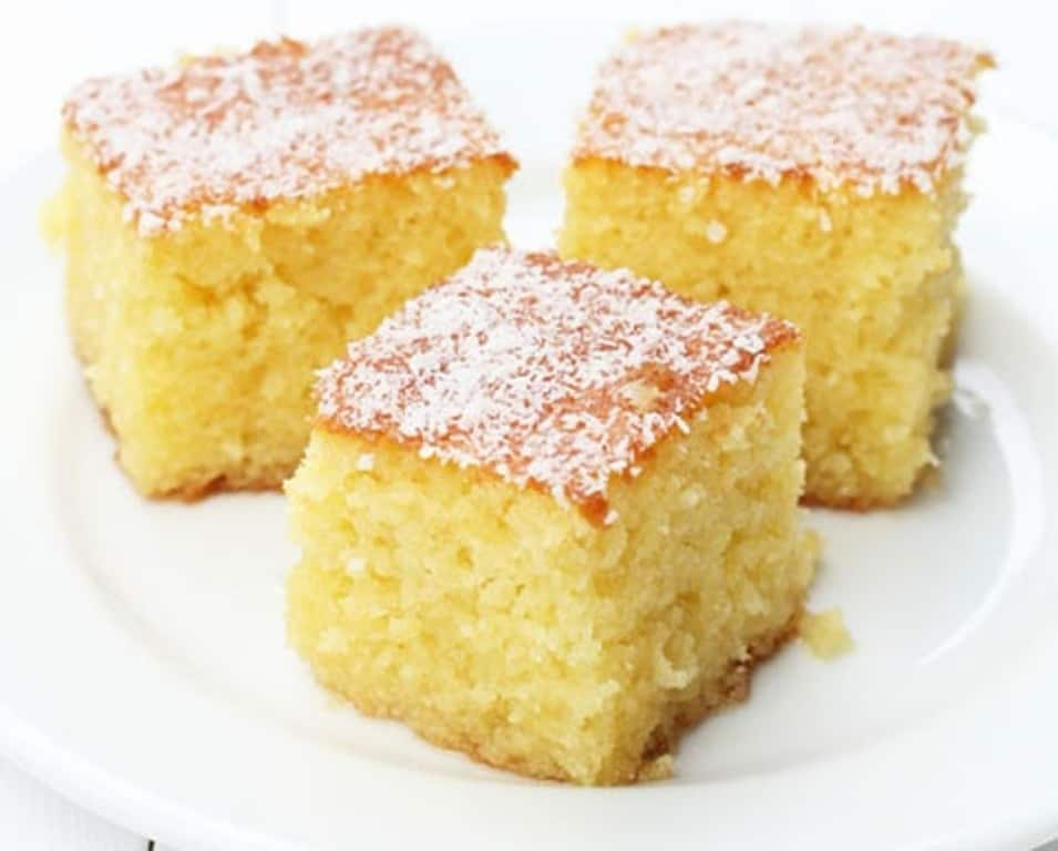 Greek Lemon Semolina Cake