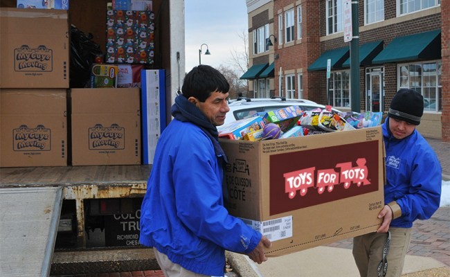 Loudoun County Toys For Tots 2013 My Guys Moving Storage