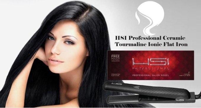 HSI Professional Ceramic Tourmaline Ionic Flat Iron