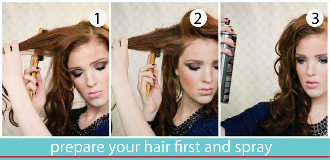 how to use curling iron