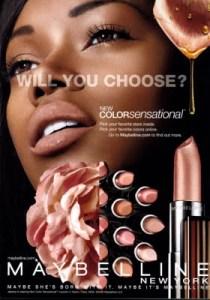 Jessica White Maybelline Ad