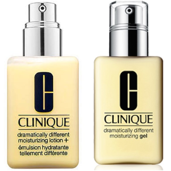 Clinique Lotion is best suited for normal and combination, while Clinique Gel is best for Oily Skin
