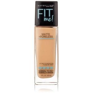 New York Fit Me Matte Plus Poreless Foundation Makeup Pure Beige-700x700