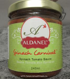 Aldanel Spinach Carnival Tomato Sauce