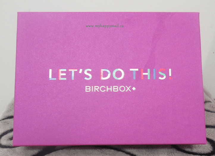 Birchbox Canada January 2015 Box