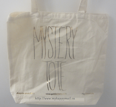 Golden Tote Mystery Bag January 2015