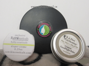Organic Face - Eyeshadow Quad in Mesa Baby Ceuticals - Diaper Rash A Place of Hope - Good Night Balm