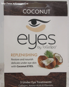 ToGoSpa Coconut Eyes