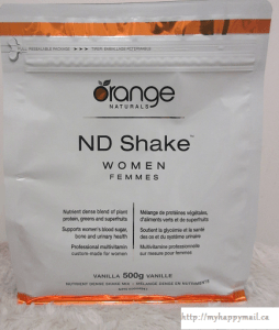 Orange Naturals ND Shake for Women