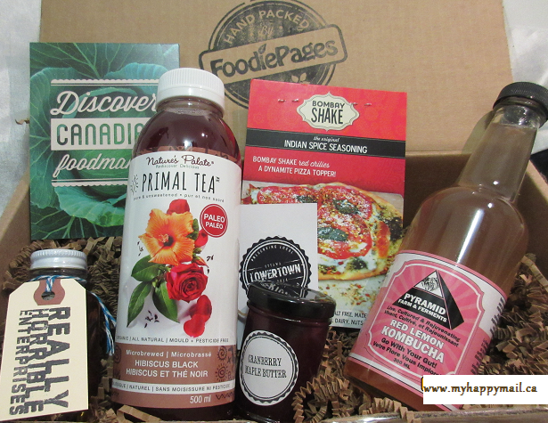 Foodiepages Tasting Box February 2015