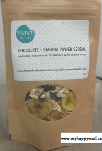 Chocolate + Banana Power Cereal