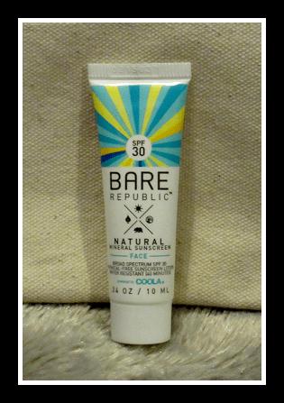 Bare Republic Naturals SPF 30 Mineral Face Sunscreen Lotion