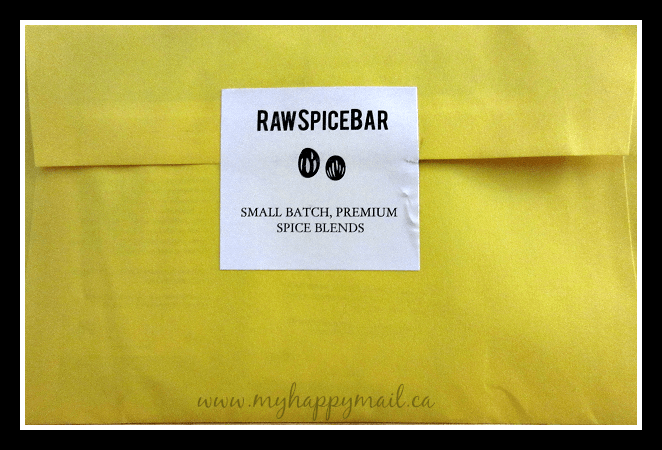 Rawspicebar subscription box