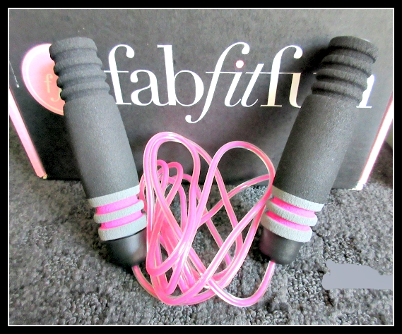 FabFitFun Summer 2015 Subscription Box Review - Skipping Rope