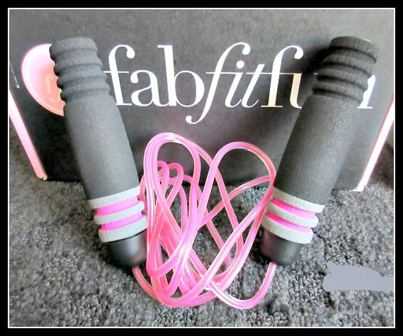 FabFitFun Summer 2015 Subscription Box Review - Skipping Rope