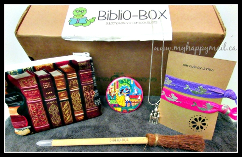 BiblioBox Bookish Subscription Box Review Full Box