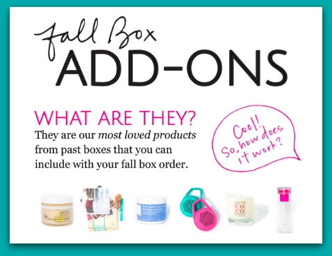 Fall Add ONs