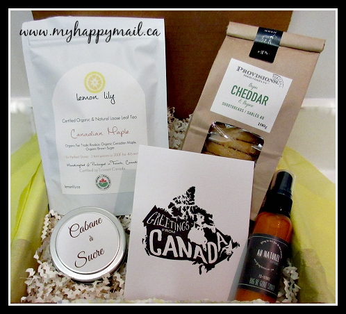 Lemon Lane Gifts Canadian Artisan Subscription Box