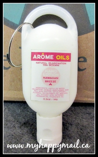 Little Life Box Canadian Subscription Box Review Arome Oils