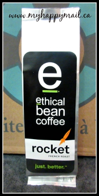 Little Life Box Canadian Subscription Box Review Ethical Bean Coffee Rocket French Roast