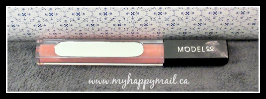 TopBox August - Model Co LipGloss in Striptease - Beauty Subscription Box