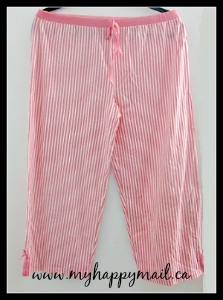 Wantable Intimates August 2015 Review Clothing Subscription Spring Fling Pajama Pants Bottom - Strawberry Pink