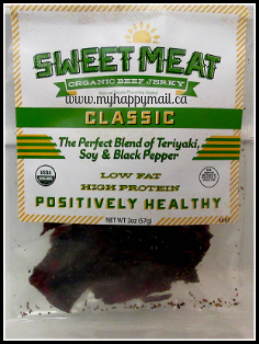 Jerky Snob Review Artisan Jerky Subscription Box Review Sweet Meat Organic Beef Jerky Classic