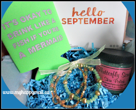 Tail Mail Review September 2015 Full Subscription Box