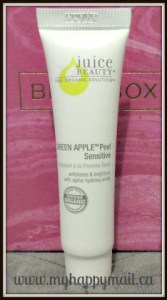 Birchbox Canada Review October 2015 Juice Beauty Green Apple Peel Sensitive