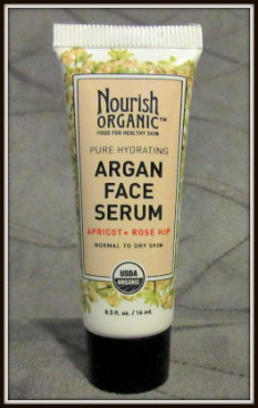 Ipsy Review October 2015 Review-Nourish Organic Argan Face Serum