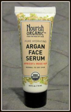 Ipsy Review October 2015 Review-Nourish Organic Argan Face Serum