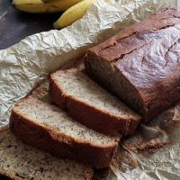 Merveilleux Banana bread { sans gluten,  sans lait, vegan possible }