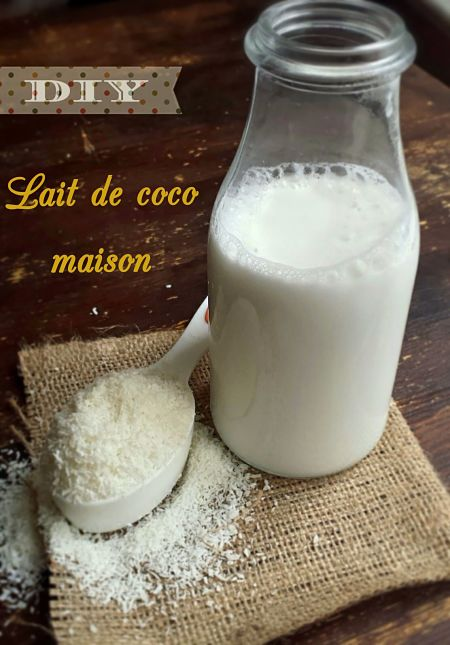 diy lait de coco maison en quelques minutes my healthy sweetness. Black Bedroom Furniture Sets. Home Design Ideas
