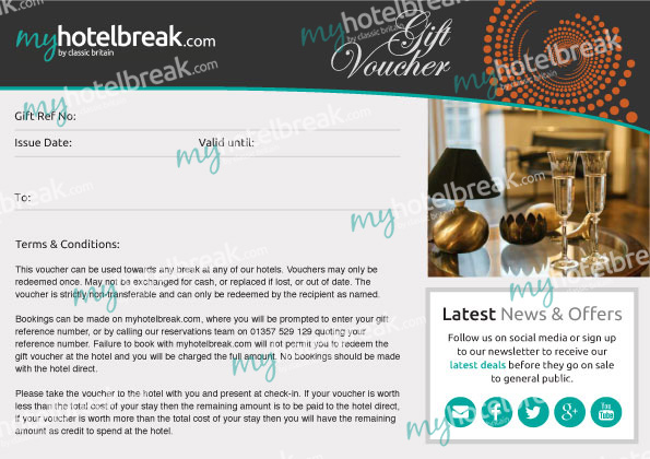 Hotel Gift Vouchers Hotel Gift Cards UK myhotelbreak - how to make vouchers