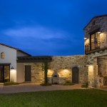 Contemporary Italian Farmhouse by Vanguard Studio Inc. 07