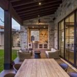 Contemporary Italian Farmhouse by Vanguard Studio Inc. 19